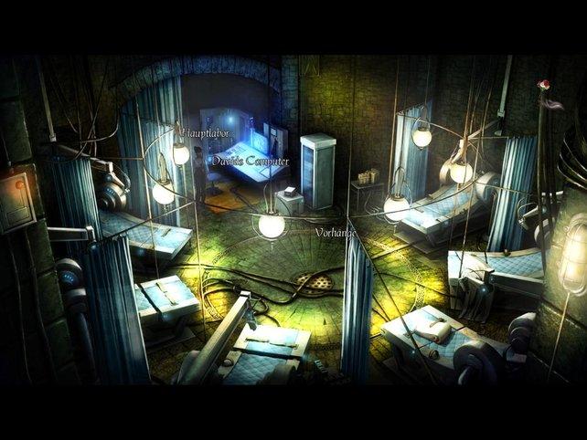 Also ich kann mir keinen gemütlicheren Ort vorstellen als mein Labor.
