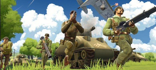 Das kostenlose Battlefield Heroes liefert spaßige Schlachten im Comicstil.