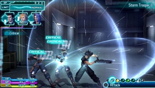 Die Kämpfe laufen viel actionreicher ab als in anderen Final Fantasy-Spielen.