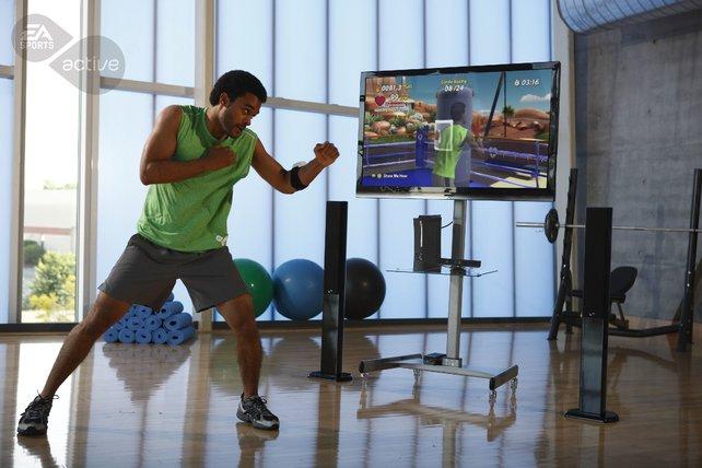 Vier Sensoren an eurem Körper erfassen eure Bewegungen.