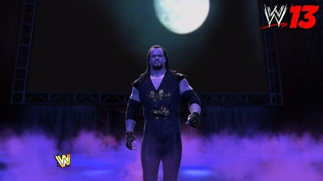 Wenn der Undertaker zum Ring schreitet, knistert die Luft.