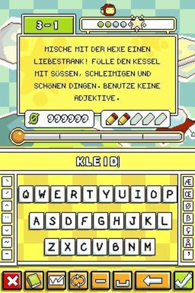 Die Spieletastatur, sozusagen der Zauberstab des Spiels.