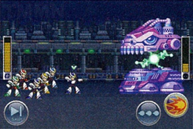 Rockman Xover (2012) für iOS enthält auch einige Bosse aus Mega Man X.