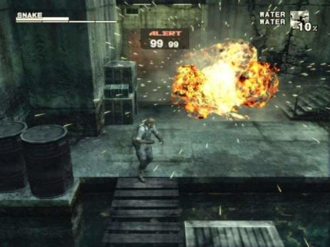 Nach einer Explosion solltet ihr immer euren Gesundheitsstatus überprüfen - Verbrennungen tun weh.