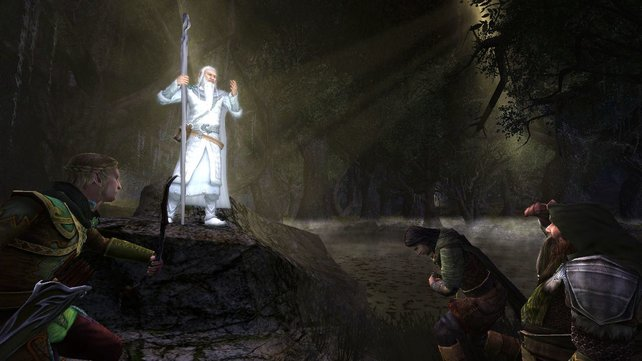 Für Tolkien-Leser ist Herr der Ringe Online ein Glückstreffer.