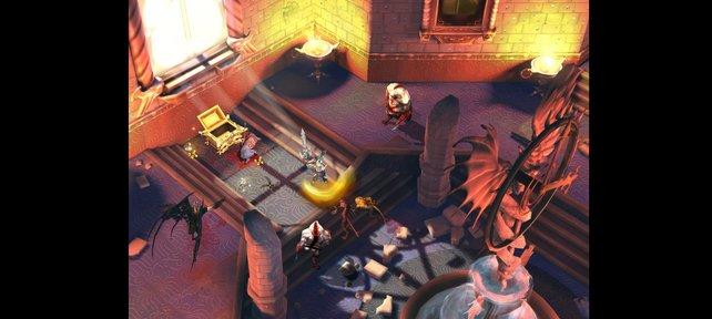 In Diablo-Manier räumt ihr Höhlen aus und züchtet eure Ausrüstung hoch.