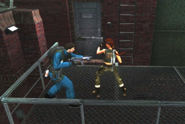 Lara im Nahkampf