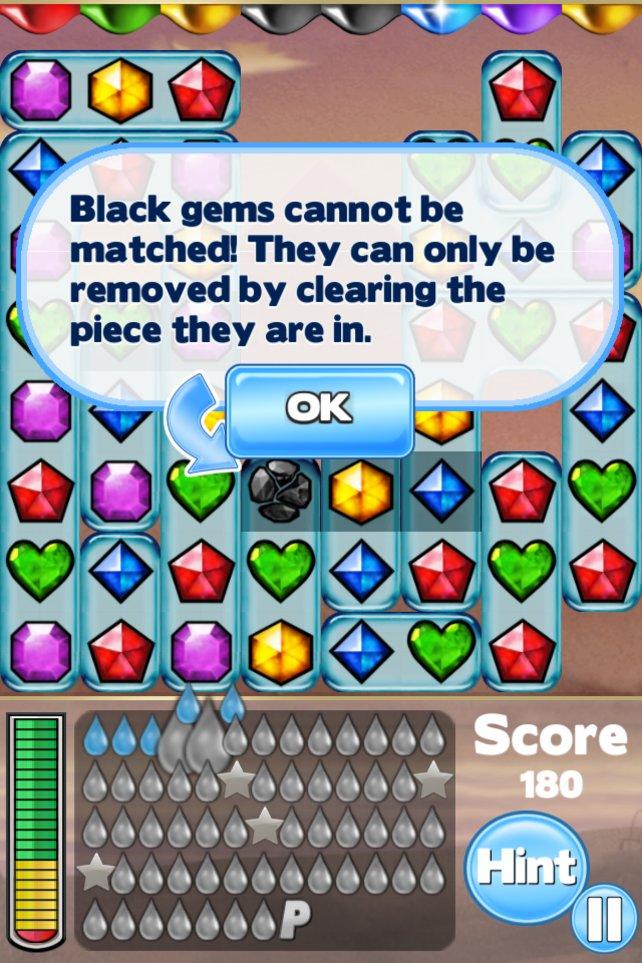 Schwarze Juwelen sind eine Seuche.
