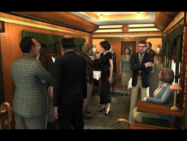 Alle im Zug