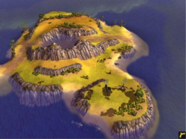 Eine Südseeinsel