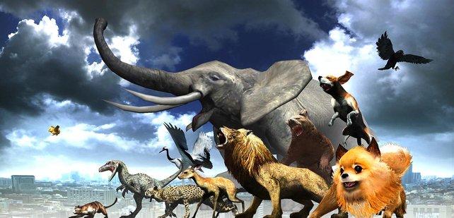 Schaltet neue Tierarten frei, indem ihr Missionen im Überleben-Modus meistert.
