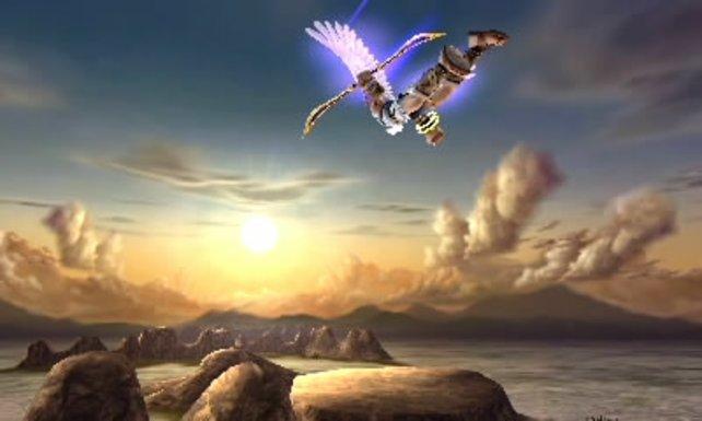 Trotz moderater Auflösung sehen Spiele wie Kid Icarus: Uprising toll aus.