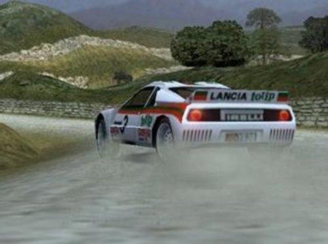 Im Lancia driften, ein Genuss!!!