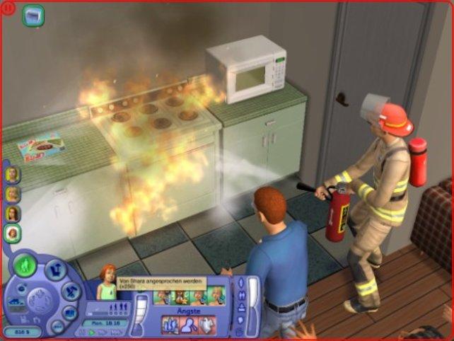 Hilfe es brennt!!!