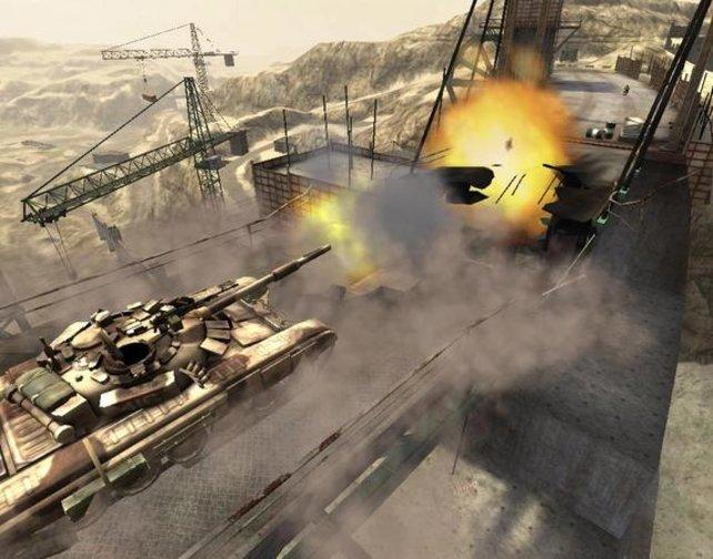 Auch diesmal geht´s in den Panzergefechten heiß her.