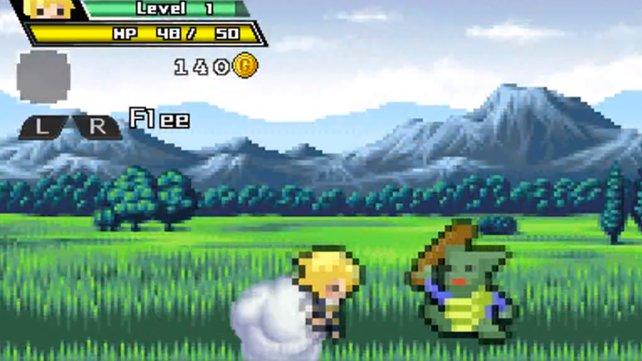"""Die Originalversion seht ihr hier auf PSP. Die Neuauflage """"Super Mega Neo Climax"""" gibt es für Xbox 360."""