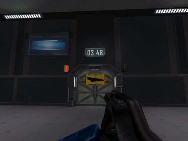 Warten aufs Shuttle
