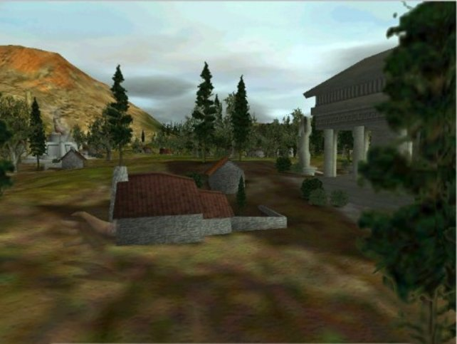 Idyllisches Dorf - hier lässt es sich leben