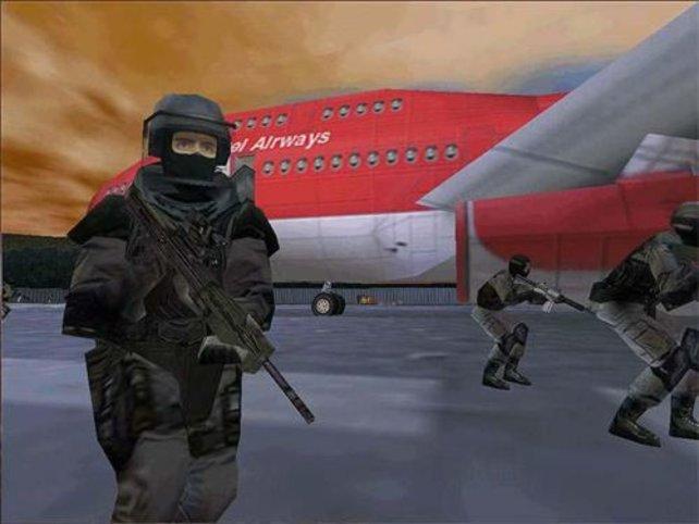 Auch eine Flugzeugentführung muss beendet werden