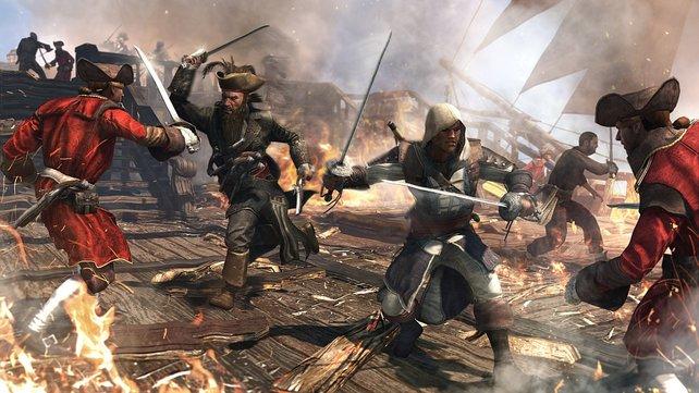 In Assassin's Creed erlebt ihr Abenteuer in der Karibik.