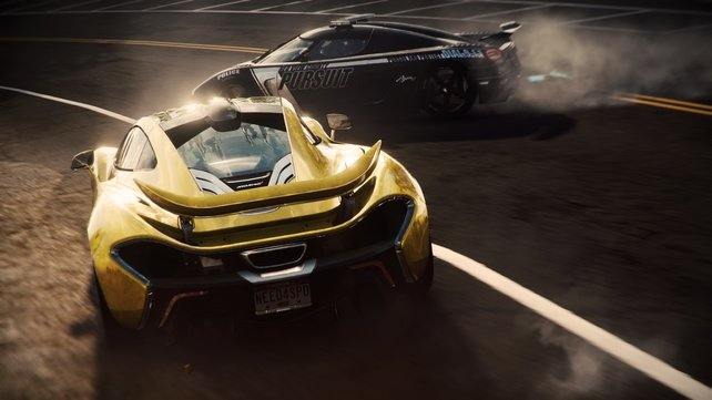 In Need for Speed - Rivals wechselt ihr zwischen Polizei und Raser.
