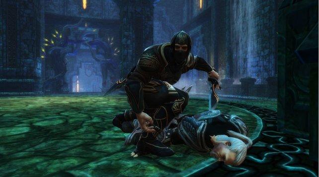 Oh nein, der Assassine hat Geralt von Riva getötet! Sieht zumindest so aus, oder?