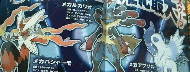Pokémon X und Y: Mega-Pokémon vorgestellt, Geheimnis um Mewtu gelöst **Update**