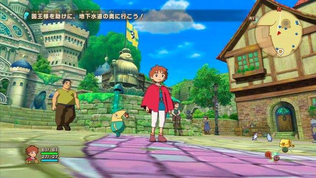 So schön kann Rollenspiel sein: Die Zusammenarbeit von Level-5 und Studio Ghibli macht's möglich.