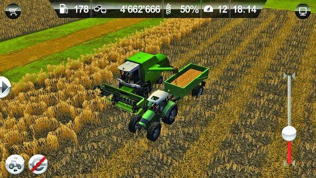 Auch iOS-Nutzer können nun ihre virtuelle Ernte einfahren.