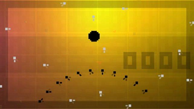 So wie die anderen Bit-Trips (bis auf Runner) verfügen auch Void und Flux über einen On- und Offline-Mehrspieler-Modus.