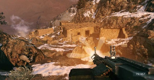 Die Berge in Afghanistan sind aktiueller Kriegsschauplatz.