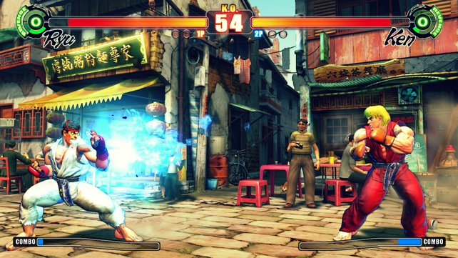 Street Fighter 4 knüpft spielerisch an Teil 2 von vor 20 Jahren an.