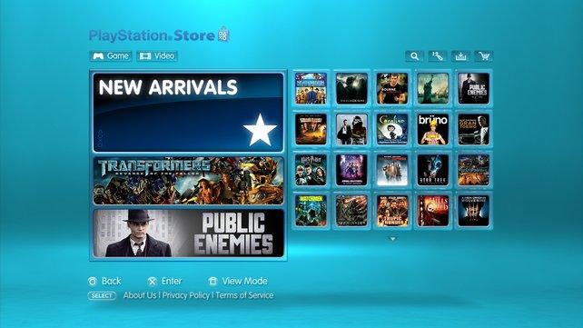 Umfangreich: Sony plant mit 50 neuen Titeln pro Woche.