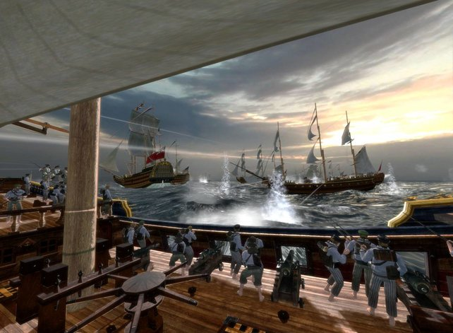 Spannende Kämpfe auf hoher See