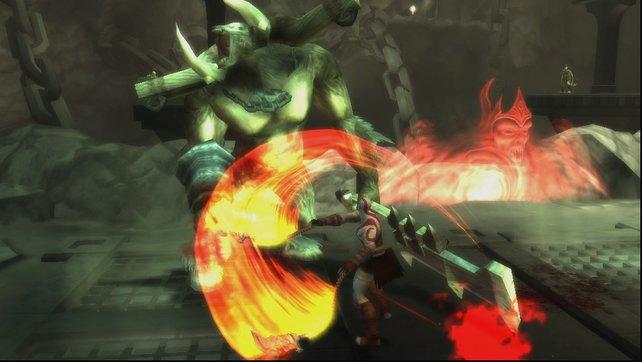 Der Wechsel zwischen Attacken und Ausweichmanövern funktioniert leichter als auf der PSP.