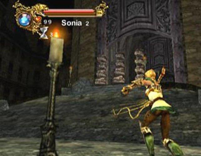 Nie erschienen: Castlevania - Resurrection für Dreamcast.
