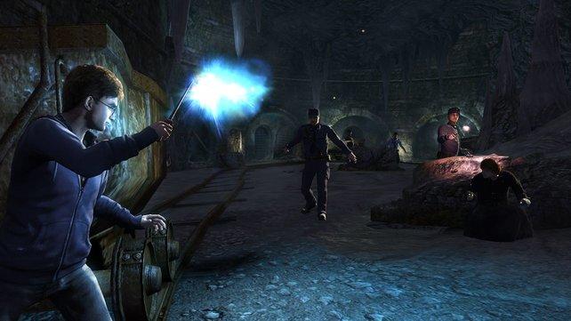 Die Gegner laufen blind ins Schlachtfeld hinein und sind so schnell besiegt.