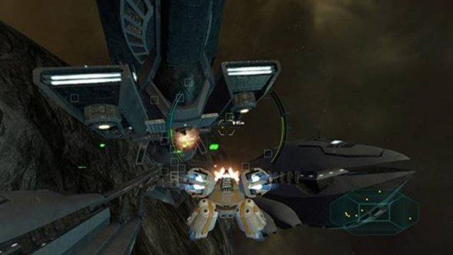 Das Design von Star Raiders ist eher generisch, technisch ist das Spiel aber recht sauber.