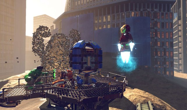 Lego Marvel Super Heores schickt euch auf Schurkenjagd mit Ironman und Co.