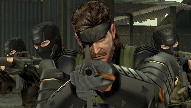 Snake hat seine Gegner stets im Visier.