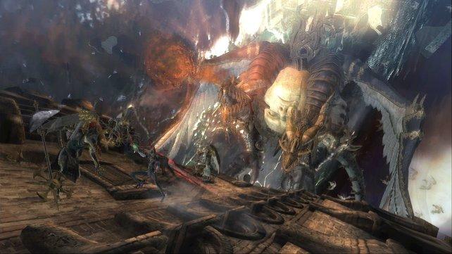 Das Design der Boss-Gegner ist atemberaubend und strotzt vor Kreativität.