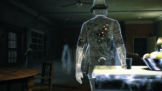 Nie wieder blaue Flecken: Als Geist bewegt sich Ronan durch Wände und Möbel.