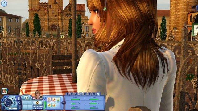 Euer Sim fühlt sich in der italienisch angehauchten Stadt pudelwohl.