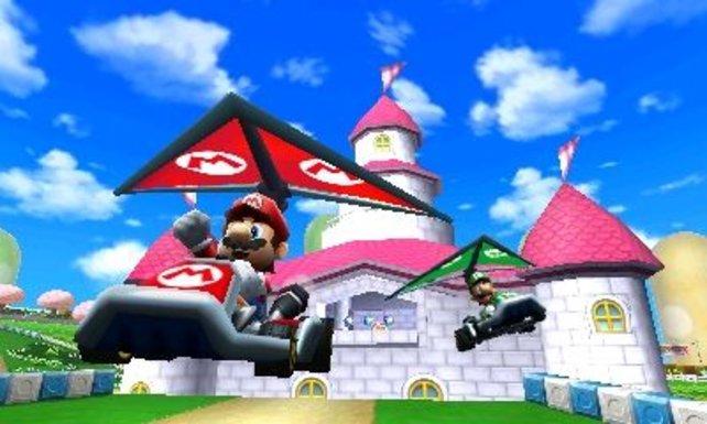 Mario und Co heben ab - den Gleitschirmen sei Dank!