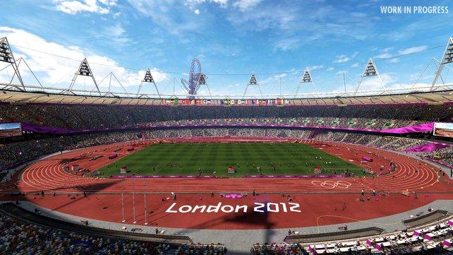 Das Olympia-Stadion ist den Entwicklern gut gelungen - die Atmosphäre stimmt.