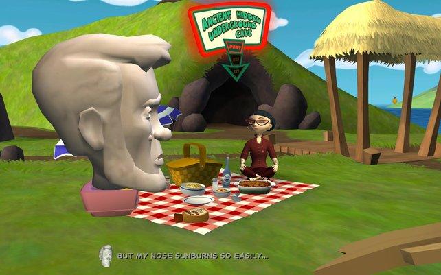 Picknick auf den Osterinseln und gleichzeitig ein Wiedersehen mit alten Bekannten.