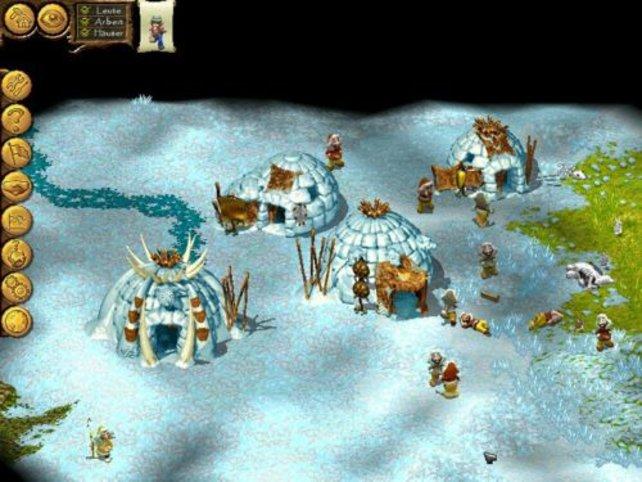 Ein Eskimodorf