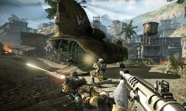 """Das erste """"Free 2 play""""-Spiel aus dem Hause Crytek, Warface, soll qualitativ mit Battlefield 3 und Co. mithalten können."""
