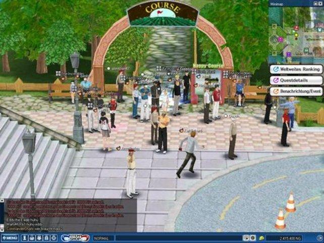 Das Leben auf der Anlage erinnert stark an Sims.