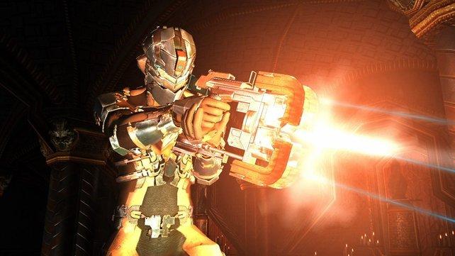 Der Plasmacutter ist eure stärkste Waffe.